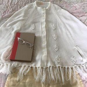 Vintage 1950s cape/poncho